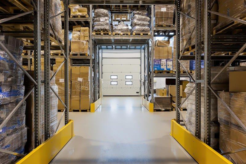 Epoxy coating, epoxy verf magazijn, industrie