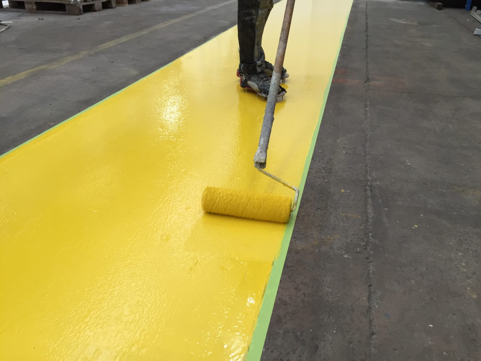 Epoxy coating, looppad industrie