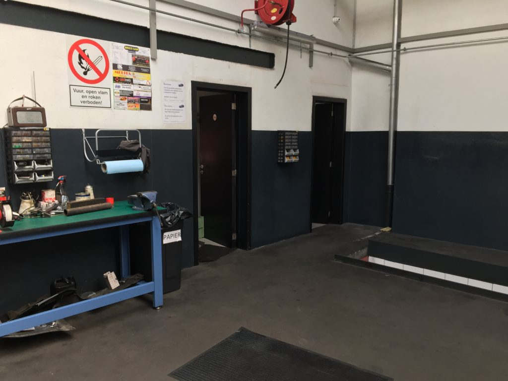 Epoxy verf, epoxy coating, industrie, garage