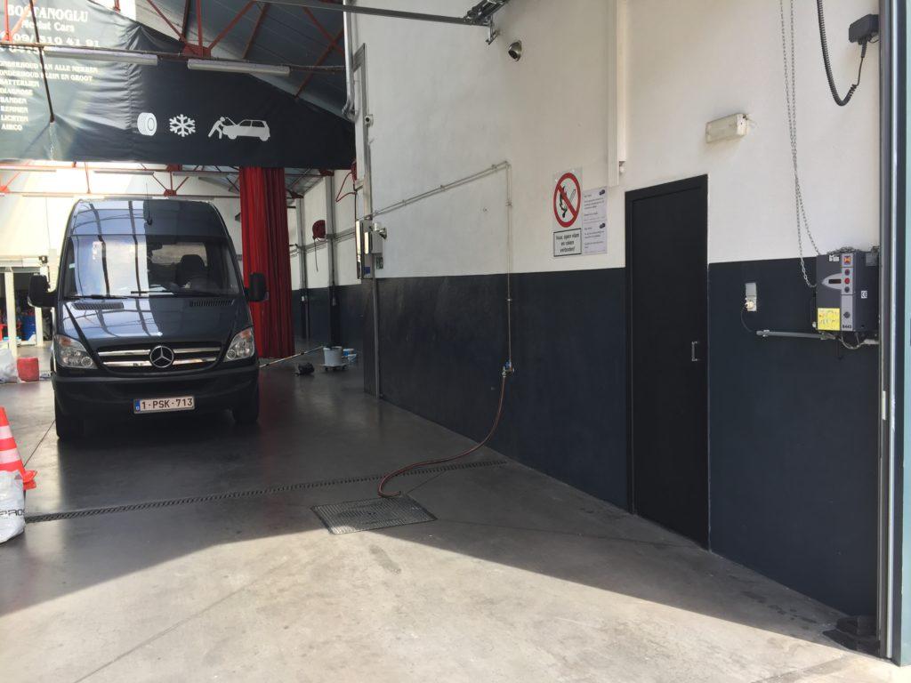 Wandcoating garage